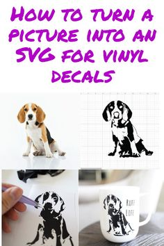 Photo to Cut File tutorial - DIY Crafts - how to turn a picture into a vinyl decal cricut design space - Vinyle Cricut, Intranet Design, Design Oriental, Cricut Help, Vinyl For Cricut, Cricut Vinyl Projects, Design Digital, Cricut Craft Room, Affinity Designer