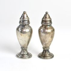 #Vintage #Antique #Silver Plated #Salt & #Pepper Shakers - Perfect #Home #Kitchen #Decor by OneRustyNail on #Etsy