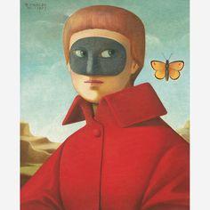 Menino com Máscara, 1973 - Reynaldo Fonseca
