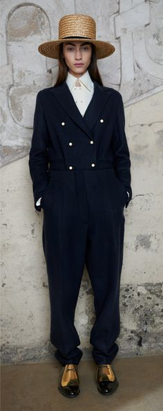 Celine Pre-fall 2013: Liking the straw hats