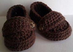 Crochet loafers