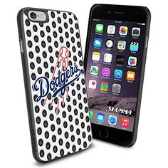"""MLB Dodgers iPhone 6 4.7"""" Case Cover Protector for iPhone 6 TPU Rubber Case SHUMMA http://www.amazon.com/dp/B00WMW4JQU/ref=cm_sw_r_pi_dp_9kYovb07WQ1ZY"""