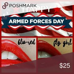 "LipSense from SeneGence International 🚨 Ladies - Today is Armed Forces Day!  🚨  ❤️ 15% off for anyone who orders a LipSense ""red"" today, in honor of supporting our troops ... past and present!    Every girl needs a Red, and remember to always wear red on Friday to support our troops!  💋 🙋🏻 Please message me or visit my Facebook page www.facebook.com/runningoncoffeelipstick to take advantage of this of this special offer! LipSense Makeup Lipstick"