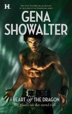 "Matt Aymar on the cover of Gena Showalter's ""Heart of the Dragon"" (2009)"