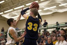 Climax-Mendon boys' bball Feb 19
