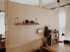 Do It Yourself Houseboat Strategies - Building Your Own Houseboat Okdiyy Photo By Hazuki_Ho - Limia - # # # Peg Board Walls, Peg Wall, Plywood Interior, Design Studio Office, Micro Apartment, Interior Architecture, Interior Design, Natural Interior, Acoustic Panels