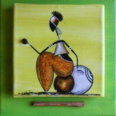 3 Rastas sur toile 15x15 collée sur toile 20x20 Rastassis vertige Rasta ciel Rastailleur (marron) Black Women Art, Black Art, Snoopy Pictures, African American Art, African Girl, African Art Paintings, Tribal Art, Beautiful Paintings, Pottery Art