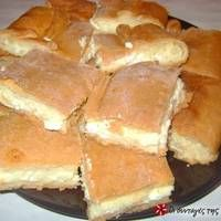 Σιμιγδαλένια τυρόπιτα με ζύμη κουρού Greek Desserts, Greek Recipes, Savoury Baking, Savoury Recipes, Greek Dishes, Easy Pie, Tasty, Yummy Food, Food Tasting