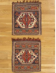 Pair of Shahsavan bags (182) | Hagop Manoyan, New York