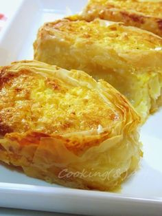 Ρολό τυρόπιτας / Cheese pie roll - Cooking & Art by Marion Cookbook Recipes, Baking Recipes, Cyprus Food, Greek Pastries, Greek Cooking, Cooking Time, Cheese Pies, Christmas Cooking, Sweet And Salty