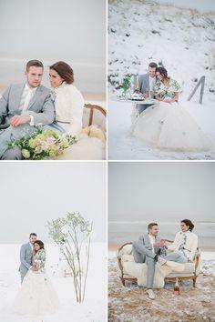 Wedding Photography Ideas : Pastel Winter Inspiration Shoot by Jennifer Hejna
