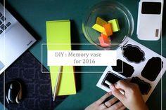 Inspiráló és motiváló csináld magad emlék váza. Igazán egyszerű elkészíteni.
