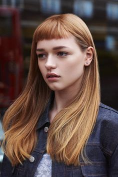 100+ Uniquely Aesthetic Hair Cut With Micro Bangs Ideas