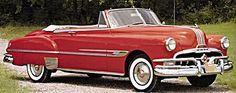 Cars - Pontiac - Year by Year with pictures, info and prices. Come relive these fabulous automobiles. Vintage Cars, Antique Cars, General Motors, Pontiac Chieftain, 1950s Car, Convertible, Pontiac Cars, Classy Cars, Hot Rides
