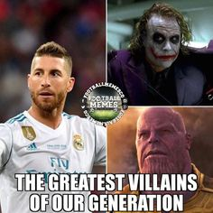 The greatest villains of our generation