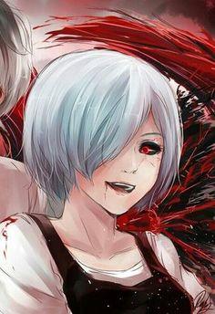 Tokyo Ghoul Uta, Tokyo Ghoul Manga, Read Tokyo Ghoul, Tokyo Ghoul Fan Art, Anime Oc, Manga Anime, Kaneki Y Touka, Boca Anime, Yandere Manga