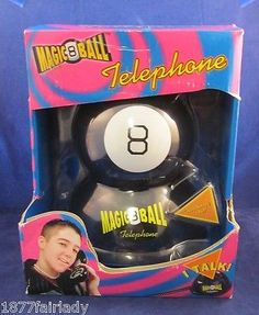 By Mattel MAGIC 8-BALL SPEAKING TELEPHONE New Magical answers Eight Ball 8 NEW