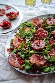 Blood Orange and Pomegranate Salad (The Hungry Australian) {gluten free}