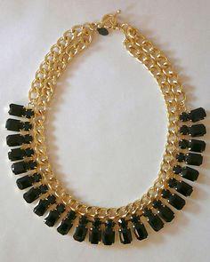 The Black Sparkle Collar by JewelMint.com, $40.00