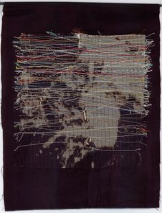 Beth Charles | Journey into Night series, 'Night music' | Machine and hand stitch on fabric
