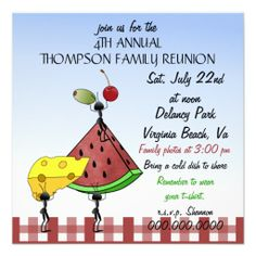 Free Printable Reunion Invitations  Blog Direct Open Family
