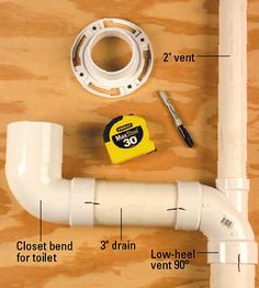Home Improvement 715931671988921354 - Confused by plumbing codes? Find tips and information on common plumbing codes, purchasing the right fittings, avoiding cutting notches in joists, and more. Source by Home Renovation, Home Remodeling, Bathroom Remodeling, Basement Renovations, Home Improvement Loans, Home Improvement Projects, Toilet Drain, Bathtub Drain, Pex Tubing