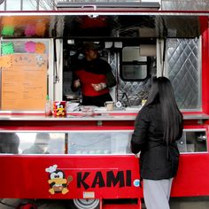 From an ex-Drexel culinary student who bought a bunch of cheeses so she could a) study which melted best into super-thin Bulgogi beef, and b) make hilarious jokes about cutting them, KAMI is Philly's first-ever Korean-American cheesesteak and taco cart.