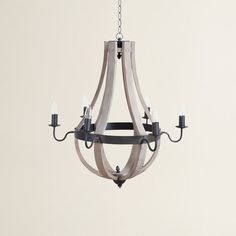 Phifer 6-Light Candle-Style Chandelier