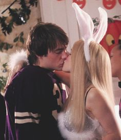 Regina George and Aaron Samuels