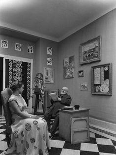 matisse ve modeli, 1951