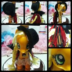 My Little Pony - Steampunk Applejack. $38.00, via Etsy.