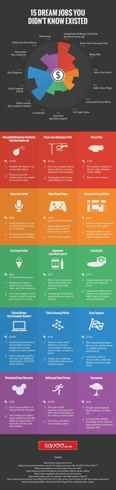 15 Dream Jobs You Had No Idea You Could Have
