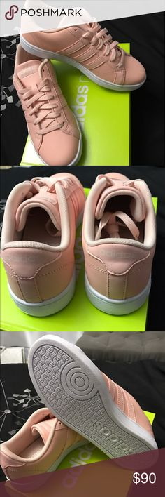 Adidas Pastel Pink 6/6.5 Brand new never worn, fits more like 6.5 Make a reasonable offer 😊 Adidas Shoes Sneakers