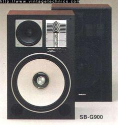 Vintage Technics Home Sound Speaker, Audio Speakers, Speakers For Sale, High End Audio, Audio Equipment, Audio System, Seiko, Brand Names, Serenity