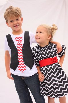 Brother and Sister Matching Christmas Outfits by mellonmonkeys ...