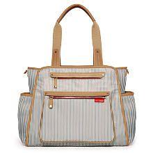 http://www.childrentoystores.com/category/skip-hop/ Skip Hop Grand Central Diaper Bag French Stripe