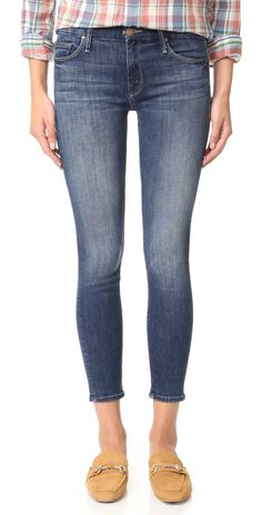 MOTHER Looker Crop Skinny Jeans | SHOPBOP