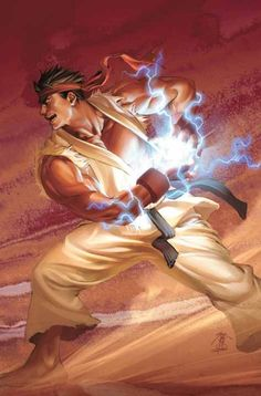 Street Fighter 2 is probably the only one of the sequels I was glued to the most. Hadouken!