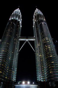 Petronas Towers - Kuala Lumpur - Malaysia (von elrentaplats)