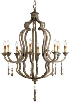 waterloo chandelier by Currey and Company