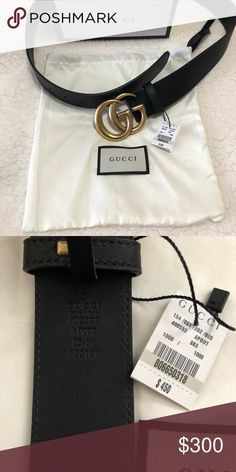 7d2c18db33f Gucci double g belt gold buckle Gucci double g belt gold buckle Comes with  box and