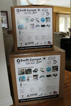 An affordable, durable, portable hot tub?  Review of the Swift Current Spa from Canadian Spa Company. #canadianspacompany #canadianspa #feelthewarmth