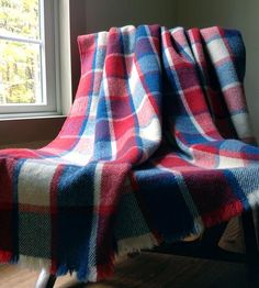 Patriot Plaid Wool Blanket | Home Decor | Outlaw Franky | Scoutmob Shoppe | Product Detail