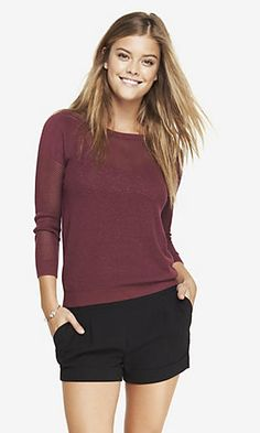 Open stitch dolman sweater - lovely for everyday #Express