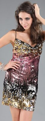 gamesinfomation.com Multicolor Sequin Fitted Short Homecoming Dress coupon| gamesinfomation.com