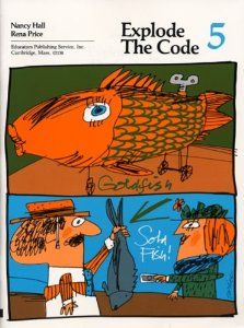 Explode the Code/Book Five by Nancy Hall. Save 8 Off!. $8.67. Publication: March 1990. Publisher: Educators Pub Service; 5 edition (March 1990). Edition - 5. Explode The Code provides a sequential, systematic approach to phonics in which students blend sounds to build vocabulary and read words, phrases, sentences, and stories. Frequent review of previously                                                         Show more                               Show less