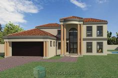 House Plans For Sale, Free House Plans, House Plans With Photos, 4 Bedroom House Designs, 5 Bedroom House Plans, Double Storey House Plans, House Plans South Africa, Affordable House Plans, Modern House Floor Plans
