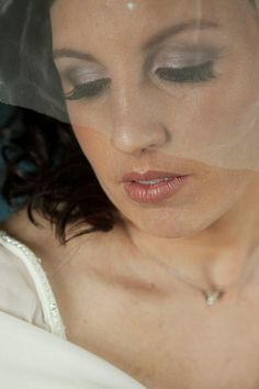 Silver and gray smoky eyes bridal makeup by Philadelphia area makeup artist Jill Suzanne