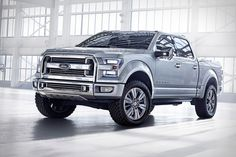 Ford Atlas Pickup Concept    NOT a Ford fan, but wow... what a great, mean-looking design!