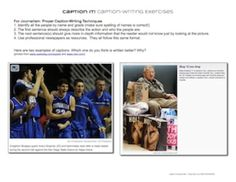 Caption It! Caption Writing for Creative and Expository Writing. Correlates with the Common Core State Standards for ELA, Writing, grades 6-12. $